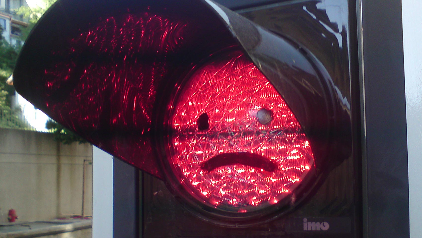 Das traurige Ampel-Smiley